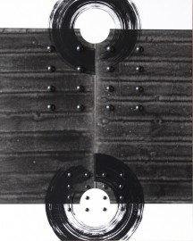 No-1,SUPERPOSITION,Paper, ink, plastic,41x33cm,